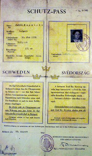 Raoul Wallenberg Death MarchRaoul Wallenberg Passports